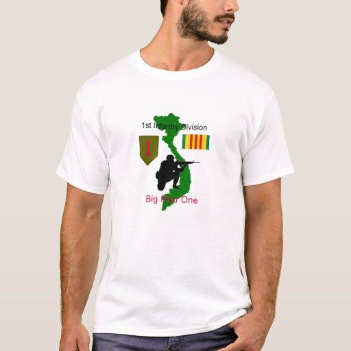 1st Infantry Division Big Red One Vietnam Vet T Sh T Shirt