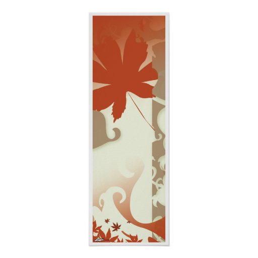 2008 Autumn Wall Scroll Poster