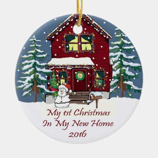 2016 My New Home Christmas Ceramic Ornament