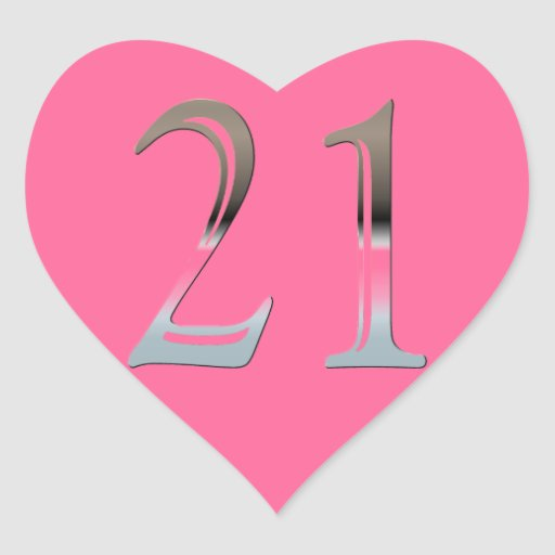 21st Birthday Silver N...