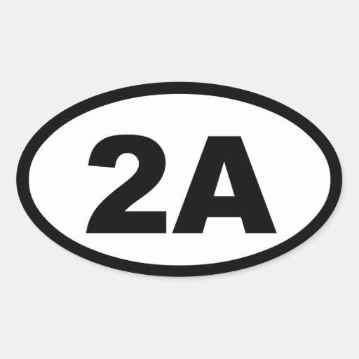 2a Sticker Zazzle