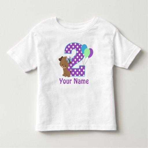 Girls 2nd Birthday Shirts