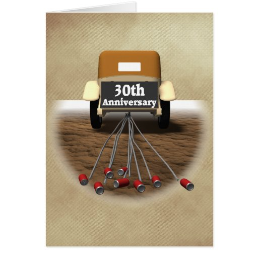 What Is The 30th Wedding Anniversary Gift: 30th Wedding Anniversary Gifts Card