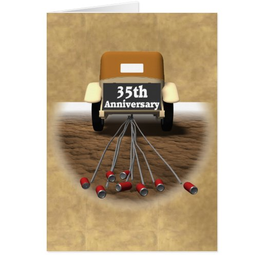 What Is The 35th Wedding Anniversary Gift: 35th Wedding Anniversary Gifts Card