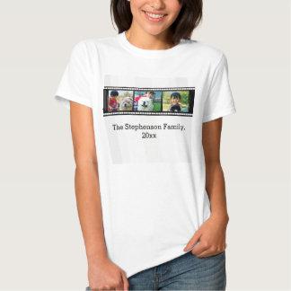Cash tee shirt film strip words