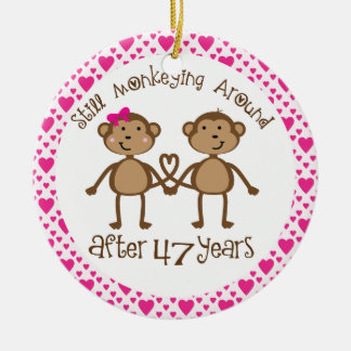 47th anniversary gift ornament r57c2d5876a984208a97f9ad30fb8a150 x7s2y 8byvr 324 - Traditional 47th Wedding Anniversary Gifts
