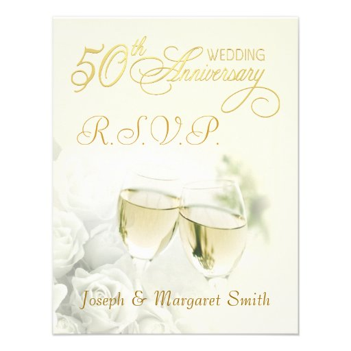 """RSVP Reply Cards 4.25"""" X 5.5"""
