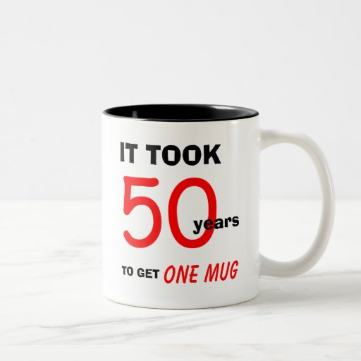 50th Birthday Gift Ideas For Men Mug