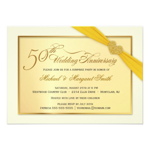 Personalized Surprise Anniversary Party Invitations Custominvitations4u Com