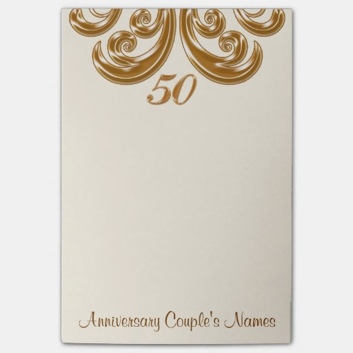 Post Wedding Gifts: 50th Wedding Anniversary Gifts For Grandparents Post-it