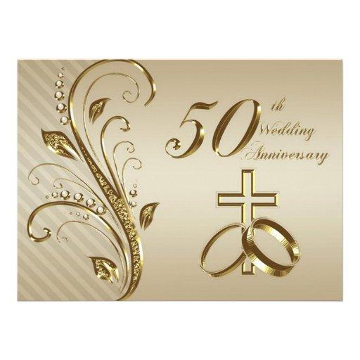 Www Zazzle Com Wedding Invitations: 50th Wedding Anniversary Invitation Card