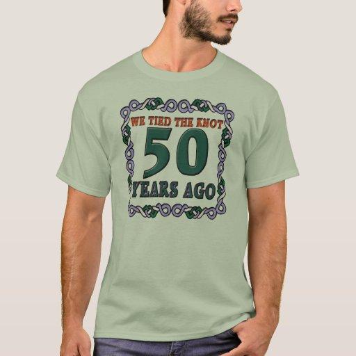 50th Wedding Anniversary T Shirt Zazzle