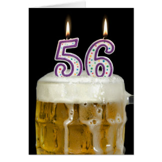 56th Birthday Cards 56th Birthday Card Templates Postage