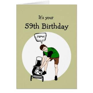 59th Birthday Cards Zazzle