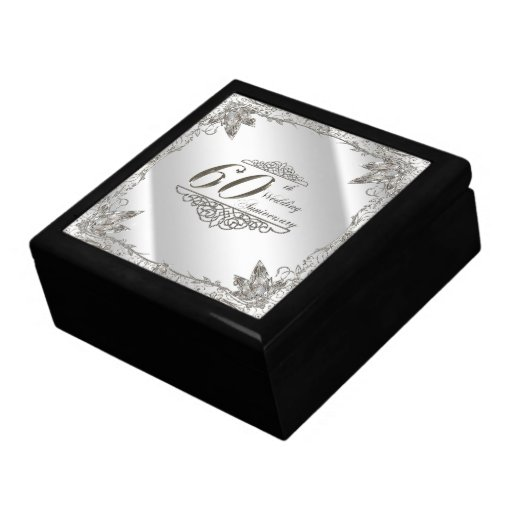 Gifts For 60th Wedding Anniversary: 60th Wedding Anniversary Gift Box