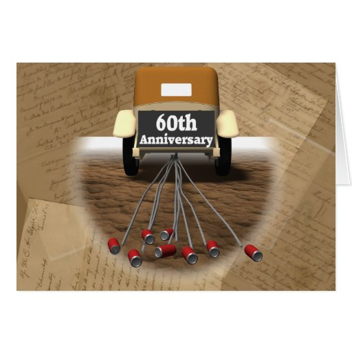 Gifts For 60th Wedding Anniversary: 60th Wedding Anniversary Gifts Card
