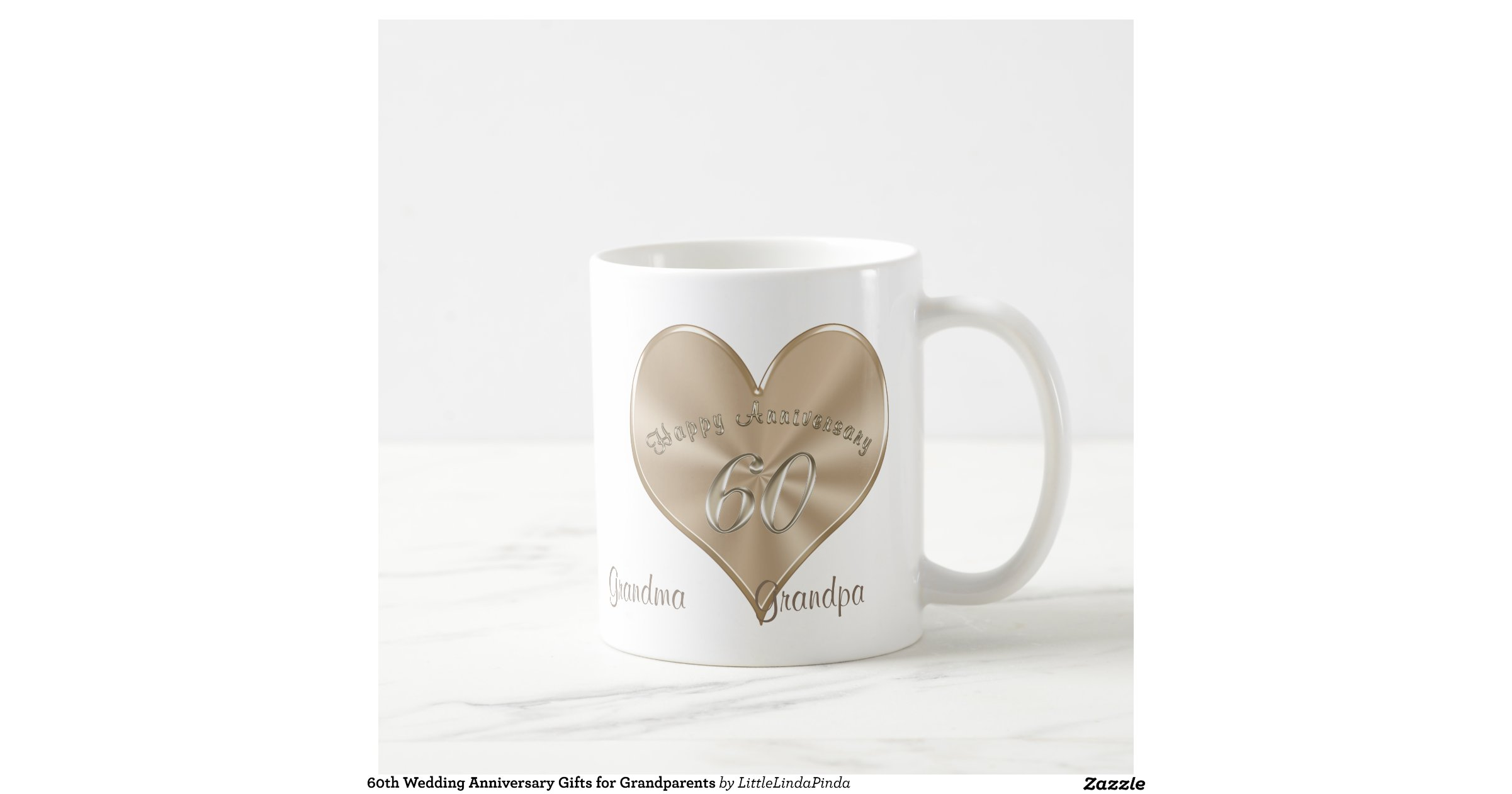 60 Years Wedding Anniversary Gifts: 60th Wedding Anniversary Gifts For Grandparents Classic