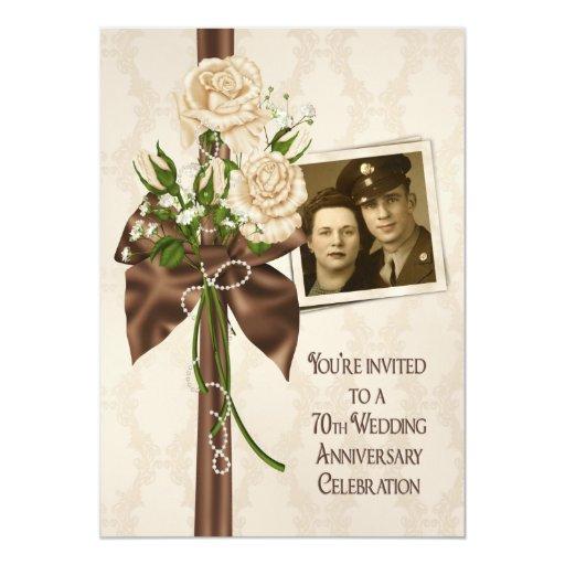 70th wedding anniversary roses card rf8c0a7bb13d84c6ca4844f268c9c00d9 zkrqs 512 - Traditional 70th Wedding Anniversary Gifts