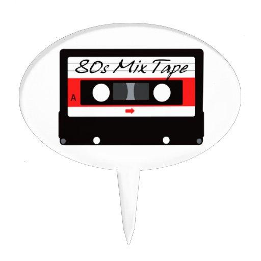 Cassette Tape Cake Topper