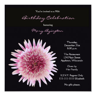 90 Birthday Invitation Wording