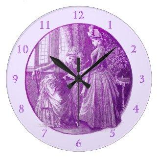 A Dilemma Victoriana Wall Clock