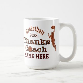 A Great Gift to Give to Your Basketball Coach Mug