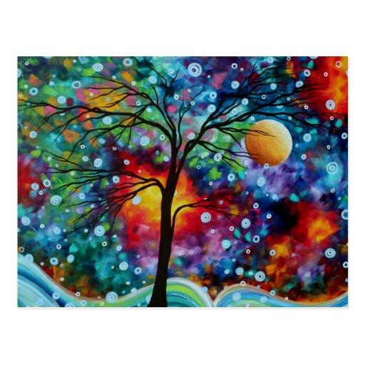 20 fantasy colorful tree - photo #15
