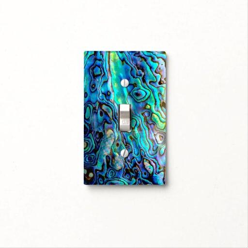 Abalone Shell Light Switch Cover Zazzle