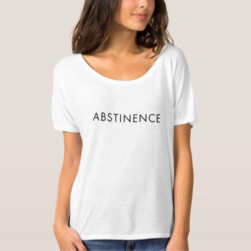 ddb1bd97c abstinence t shirt | example | Zangyo-Ninja