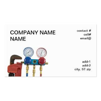 quality assurance surveillance plan template - refrigeration refrigeration business card templates
