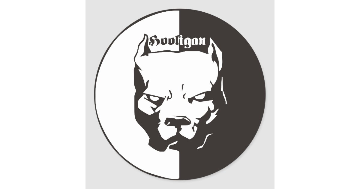 ACAB - Hooligan Classic Round Sticker