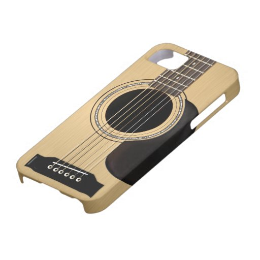 acoustic guitar iphone 5 cover zazzle. Black Bedroom Furniture Sets. Home Design Ideas