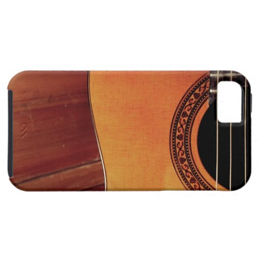 acoustic guitar iphone 5 covers zazzle. Black Bedroom Furniture Sets. Home Design Ideas