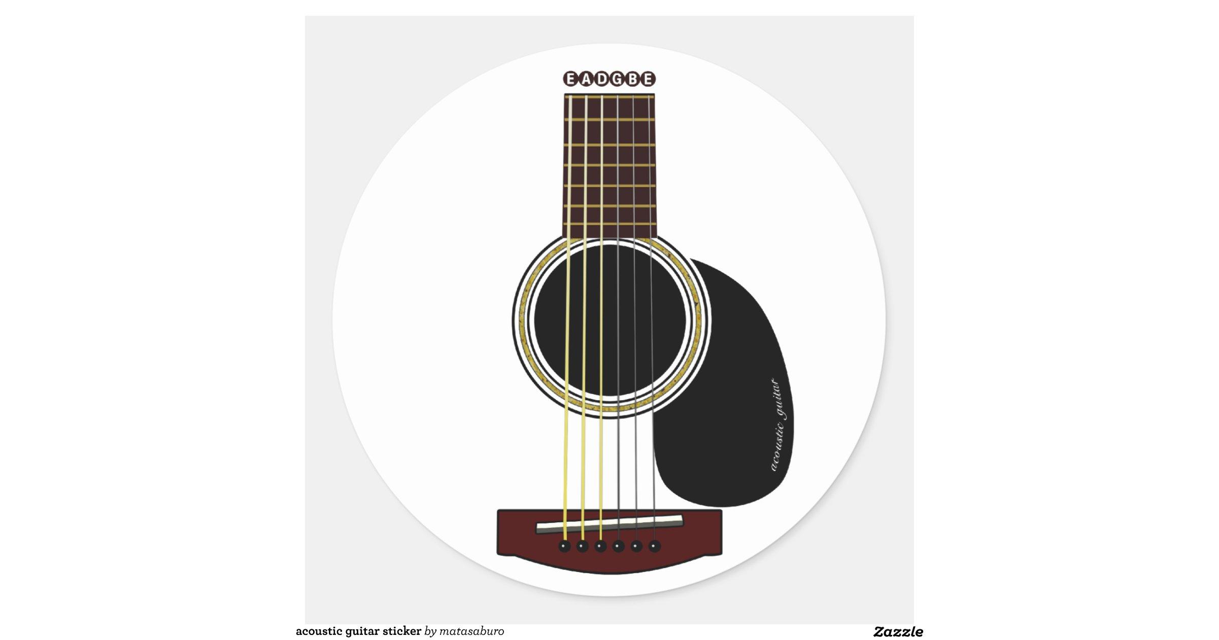 acoustic guitar sticker r1acdb9590acf4858ab03402ad7870f57 v9waf 8byvr. Black Bedroom Furniture Sets. Home Design Ideas