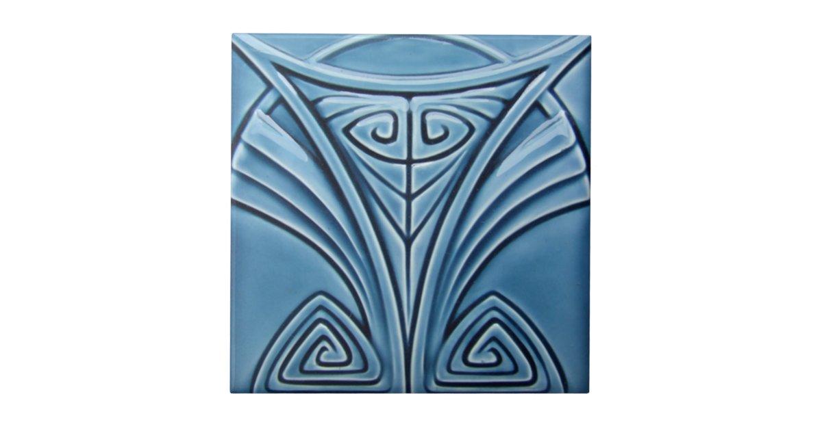 Ad027 Art Deco Reproduction Ceramic Tile Zazzle