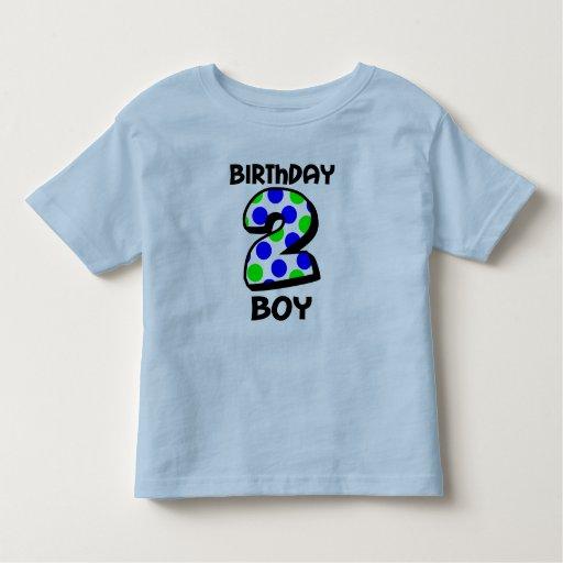 Add Your Child's Name 2nd Birthday Boy Shirt