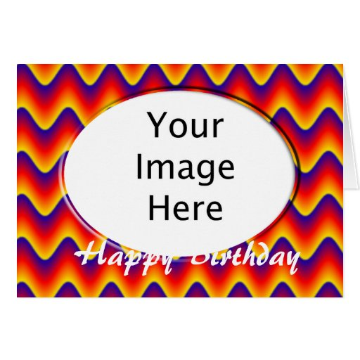 Add Your Photo Happy Birthday Greeting Card