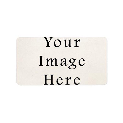 address label personalized sticker labels template zazzle. Black Bedroom Furniture Sets. Home Design Ideas