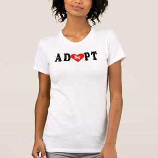 Adopt Alaskan Malamute Tshirt