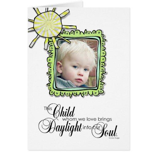 Adoption Announcement Greeting Card