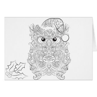 Adult Coloring Page Cards | Zazzle