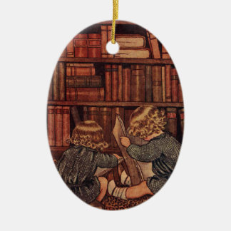 Bicentennial Book Ornament | Book christmas tree ... |Library Book Ornaments