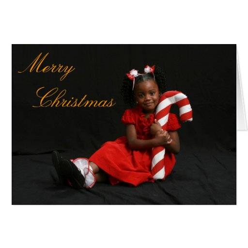 African American Merry Christmas Card | Zazzle