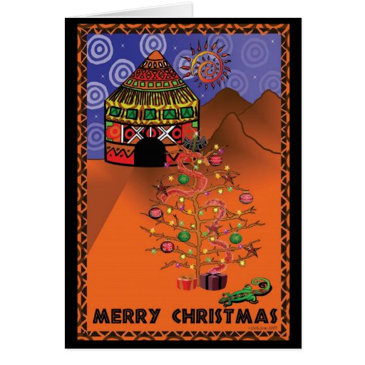 African Christmas Cards