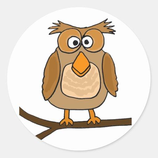 funny cartoon owls - photo #7