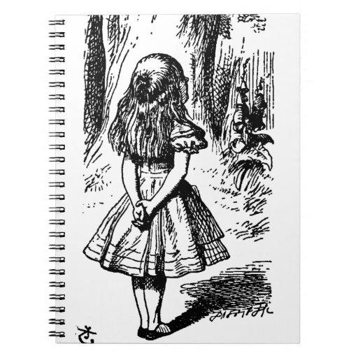 Alice in Wonderland - original illustration Note Books ...  Alice in Wonder...