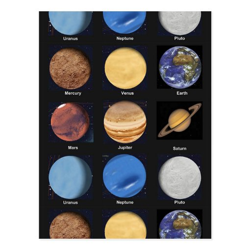 science planets and name - photo #12