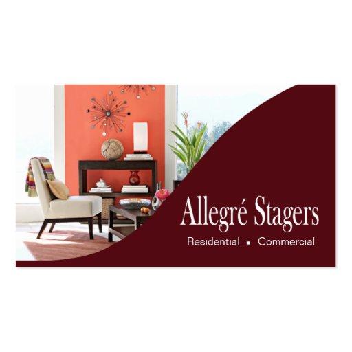 Interior Decorating Business Cards