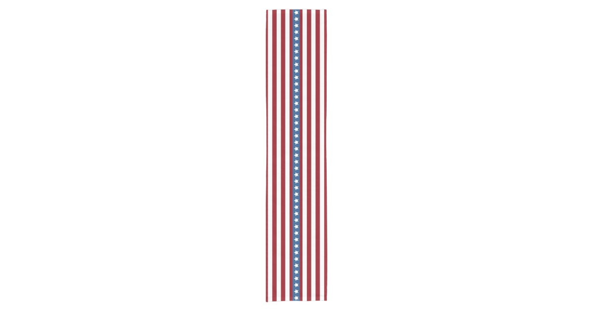 American Stars And Stripes Red White Blue Small Short