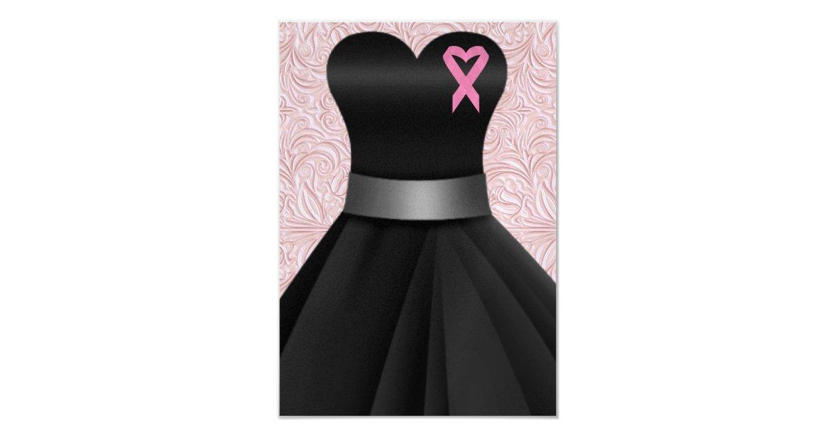 an elegant pink ribbon occasion srf card zazzle. Black Bedroom Furniture Sets. Home Design Ideas